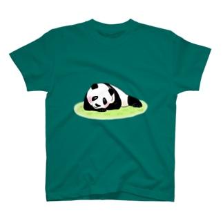 ゆるパンダ(寂しいなぁ) T-shirts