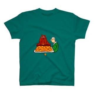 コタツを占領するやつ T-shirts