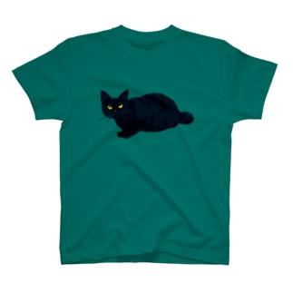 ドヤ顔黒猫 T-shirts