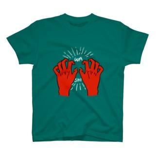 WASHIDUKAMI-IROCHI- T-shirts