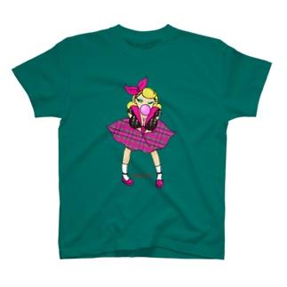 ロカビリーガールⅡ【pink】 T-shirts