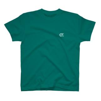 しけ丸 ワンポイントロゴ(White) T-shirts