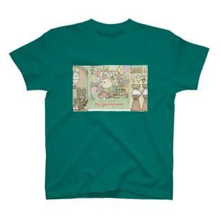 お菓子たくさん T-shirts