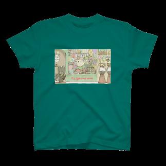 Cuiのお菓子たくさん T-shirts