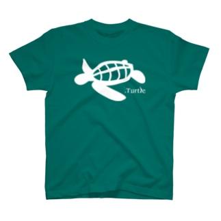 Turtle-white T-shirts