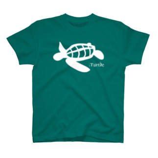 Turtle-white T-shirts
