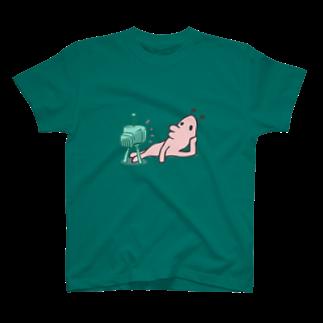 タキヲ@スタンプ販売「どうぶつくん」のどうぶつくん(テレビ) T-shirts