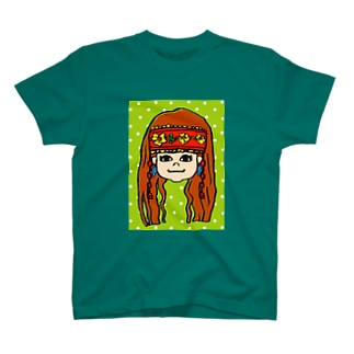 Indian Girl☆ T-shirts