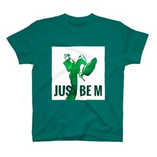 green woman model T-shirts