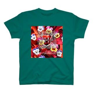 リボンの赤毛 T-shirts