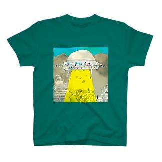 UFOの飛来 T-shirts