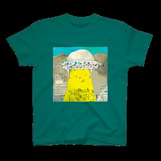 masafumiのUFOの飛来 T-shirts
