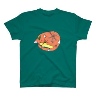 冬ネコ(='x'=) T-shirts