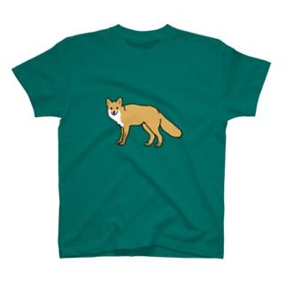 キタキツネ T-shirts