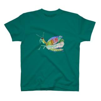 カラフル カマキリT T-shirts