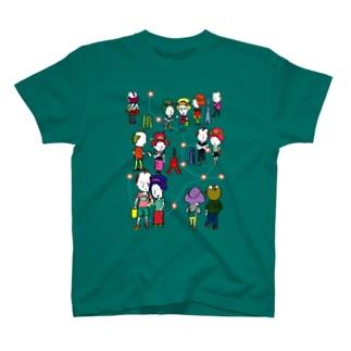 Oedo City T-shirts