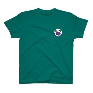 PEACHY CHERRY purple/white T-shirts