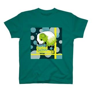 丸まるシェルティモルモット T-shirts