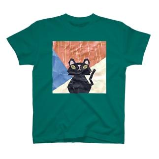 クラフト猫ロイロ T-shirts