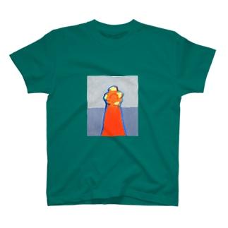 夜のぐるぐる T-shirts