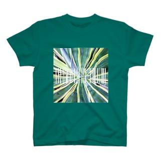 グリーン1 T-shirts