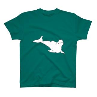 まっしろいるか T-shirts