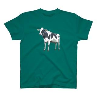 ホルスタイン2 T-shirts