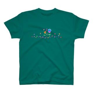 ハートの花を咲かせよう T-shirts