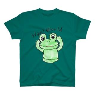「世界ハニワ化計画始めました」 T-shirts