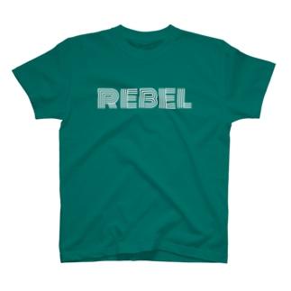 REBEL(反逆) Tシャツ T-shirts