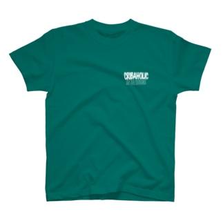 """CRIBAHOLIC """"3 on da floor"""" T-shirts"""