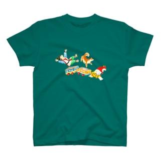 つのたろうの電車ごっこ T-shirts