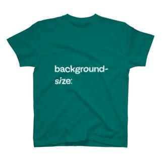 background-size: T-shirts
