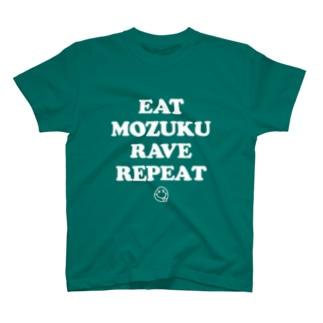 EAT MOZUKU RAVE REPEAT -MOZUKU- T-shirts