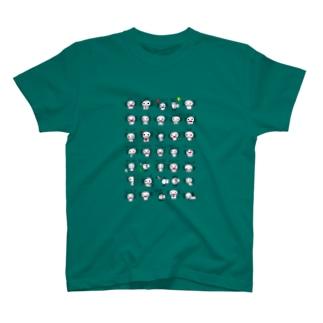 にぎやかうぱ多め T-shirts