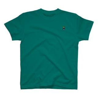 ラコ○テ並にちっちゃいキャットC T-shirts
