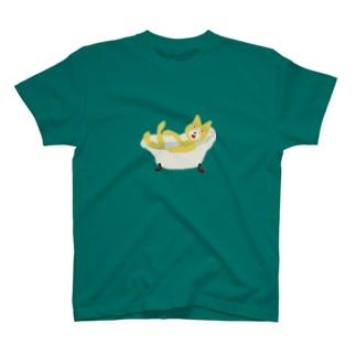 お風呂ねこ T-shirts
