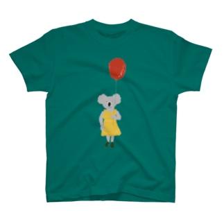 コアラの風船 T-shirts