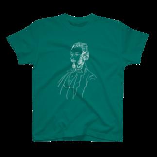 音楽愛好家協会「こんごう」 の【スメタナ】-ホワイト T-shirts
