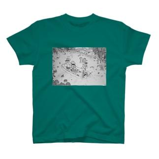 ジャングルクルーズ イラスト T-shirts