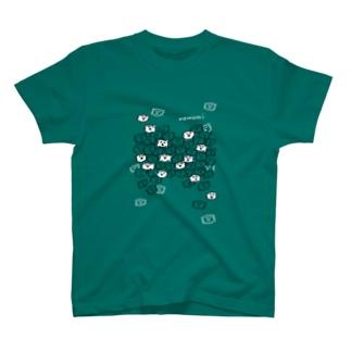 ねむみ再確認くんわじゃわじゃ T-shirts