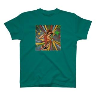 パーティーガール Tシャツ グリーン T-Shirt