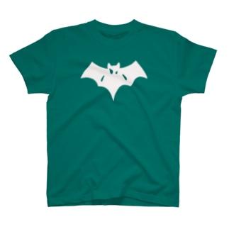 シンプルこうもり T-shirts