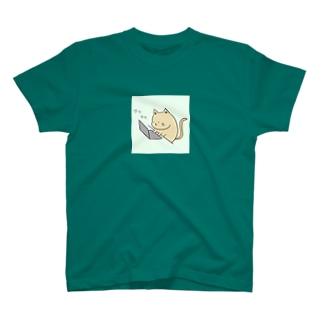 パソコンを習得したねこ T-shirts