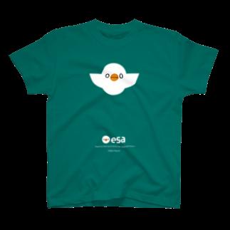 (\( ⁰⊖⁰)/) esaのesa (\( ⁰⊖⁰)/)  T-shirts