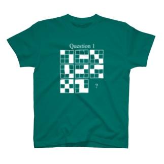 Q1(白インク) T-shirts