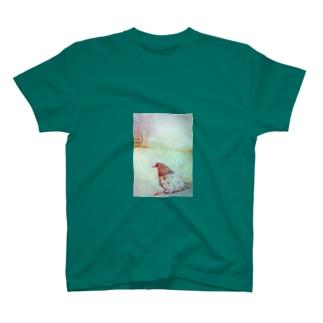 折り紙の鳥さん T-shirts
