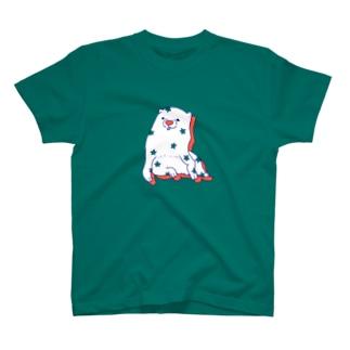 あの犬/パチパチ キャロット T-shirts