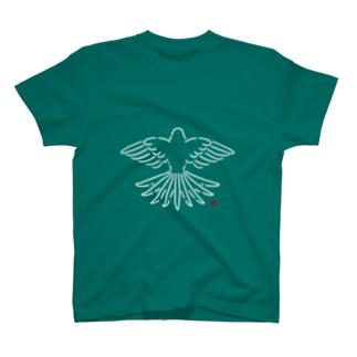 アキクサインコTシャツ T-shirts