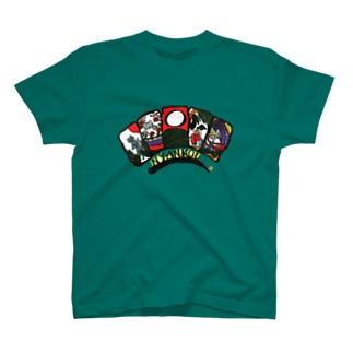 花札にゃんズ「にゃんこう」 T-shirts